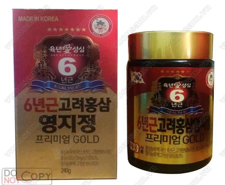 Hồng Sâm Linh Chi Dạng Cao 240g x 2 Hàn Quốc