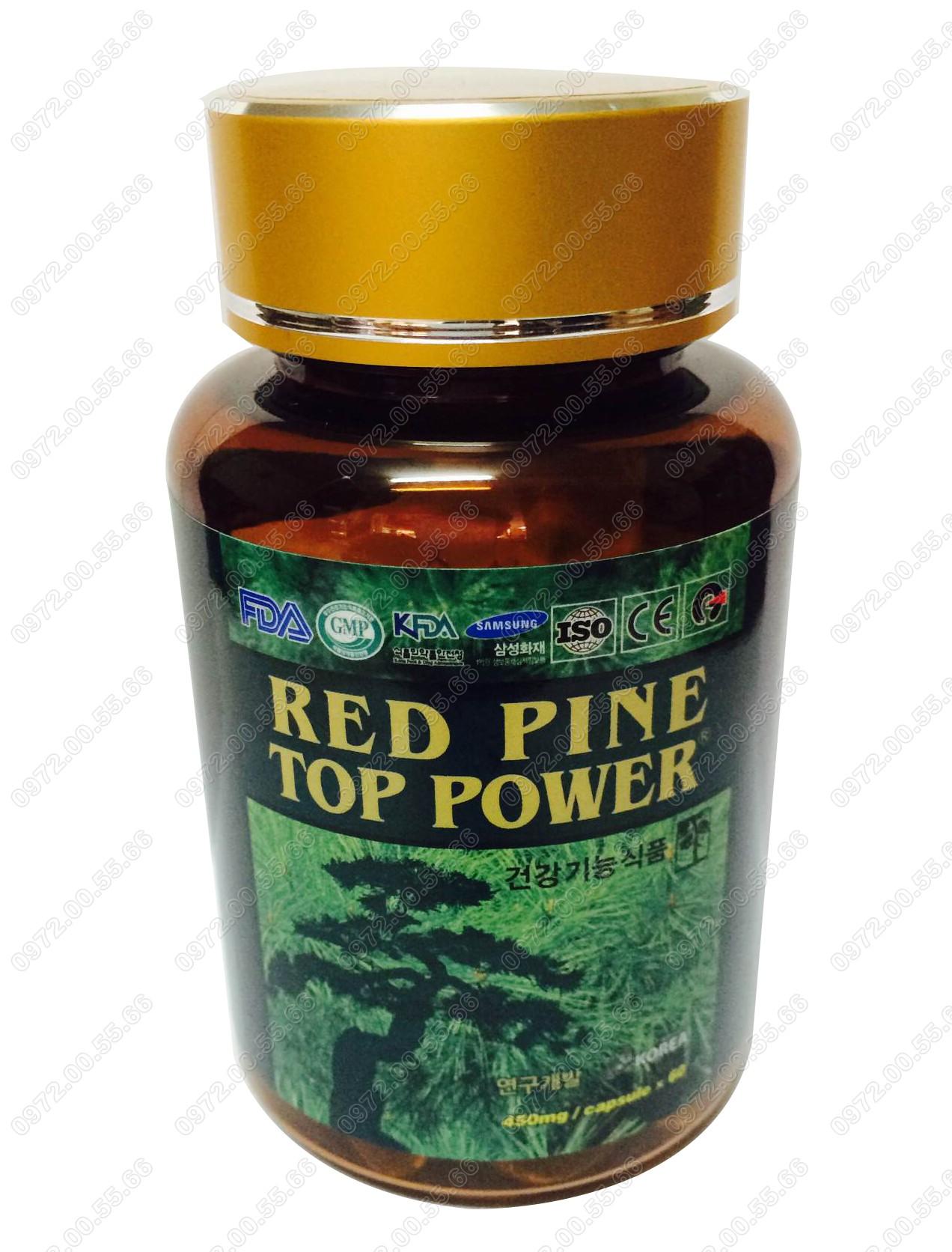 Tinh Dầu Thông Đỏ Hàn Quốc Red Pine Top Power  2