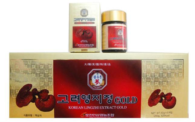 Cao Linh Chi Hàn Quốc 50g x 5 Lọ